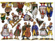 Südböhmische Trachtenkrippe