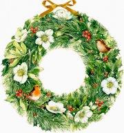 Marjoleins Weihnachtskranz