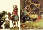 Große orientalische Weihnachtskrippe
