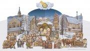 Westböhmische Weihnachtskrippe
