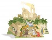 Weihnachtskrippe Pop-up Bethlehem