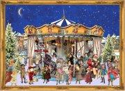 Adventskalender Nostalgie Weihnachtskarussell