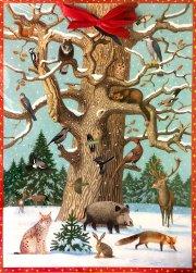 Tiere im Wald - Adventskalender
