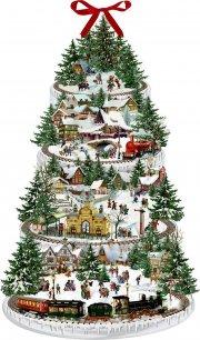 Eisenbahn Weihnachtsbaum Adventskalender
