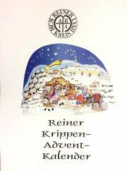 """Krippen Adventskalender des \""""Reiner Kreis\"""""""