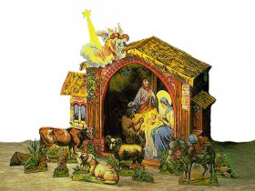 Schreiber-Bogen Große Weihnachtskrippe