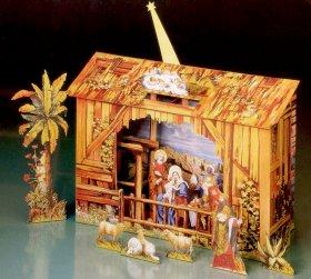 Schreiber-Bogen Kleine Weihnachtskrippe