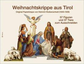 Weihnachtskrippe aus Tirol