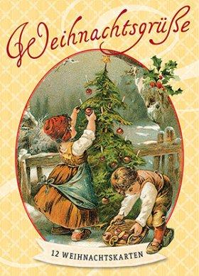Weihnachtsgrüße - Postkarten