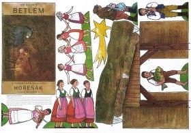 Skopek - Folkloristische Weihnachtskrippe