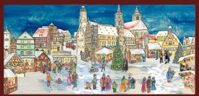 Rothenburger Weihnachtsmarkt
