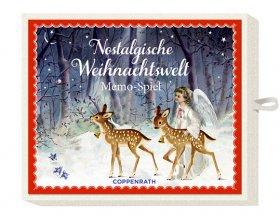 Nostalgische Weihnachtswelt - Memospiel