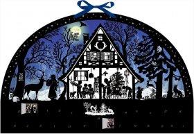 Adventskalender - Lichterbogen Weihnachtswald