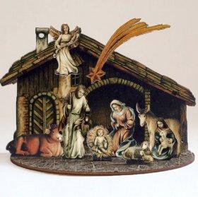 3D-Krippe Heilige Familie