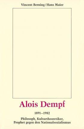 Alois Dempf 1891-1982